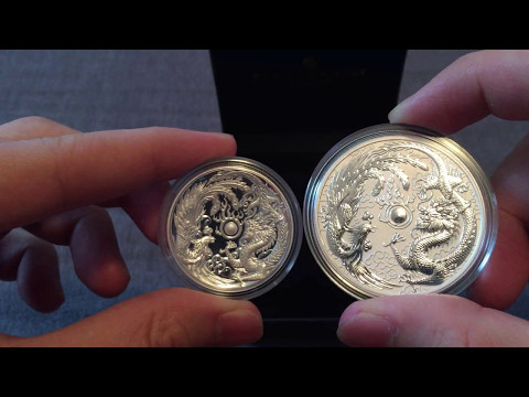 Dragon and Phoenix 1 oz. Silver High Relief Proof coin 2017 review