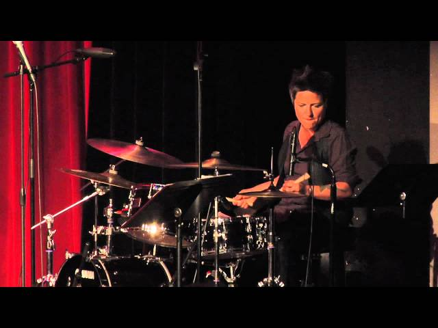 "Allison Miller drum solo on ""My Favorite Things"" w/ Kitty Margolis at Yoshi's SF"