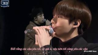 vietsub i know bts rap monster x jungkook 3rd muster dvd