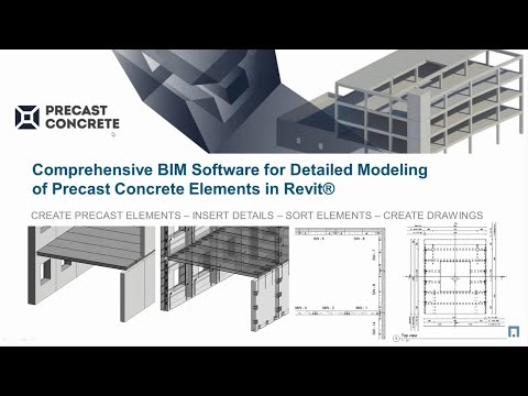 AGACAD Webinar -Forget about Tekla. Say hello to the Precast Concrete Suite for Revit