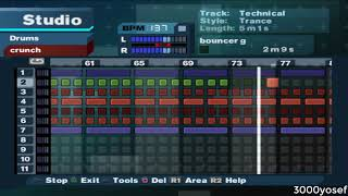 PS2 Game(4) - MTV Music Generator 3 (Techno-Trance Combine Music)