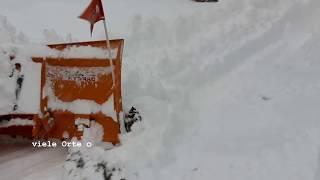 1m Schnee in 24 Stunden; 1 m di neve in 24 ore