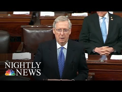 Senate Republicans On Brink Of Passing Sweeping Rewrite Of Tax Code | NBC Nightly News