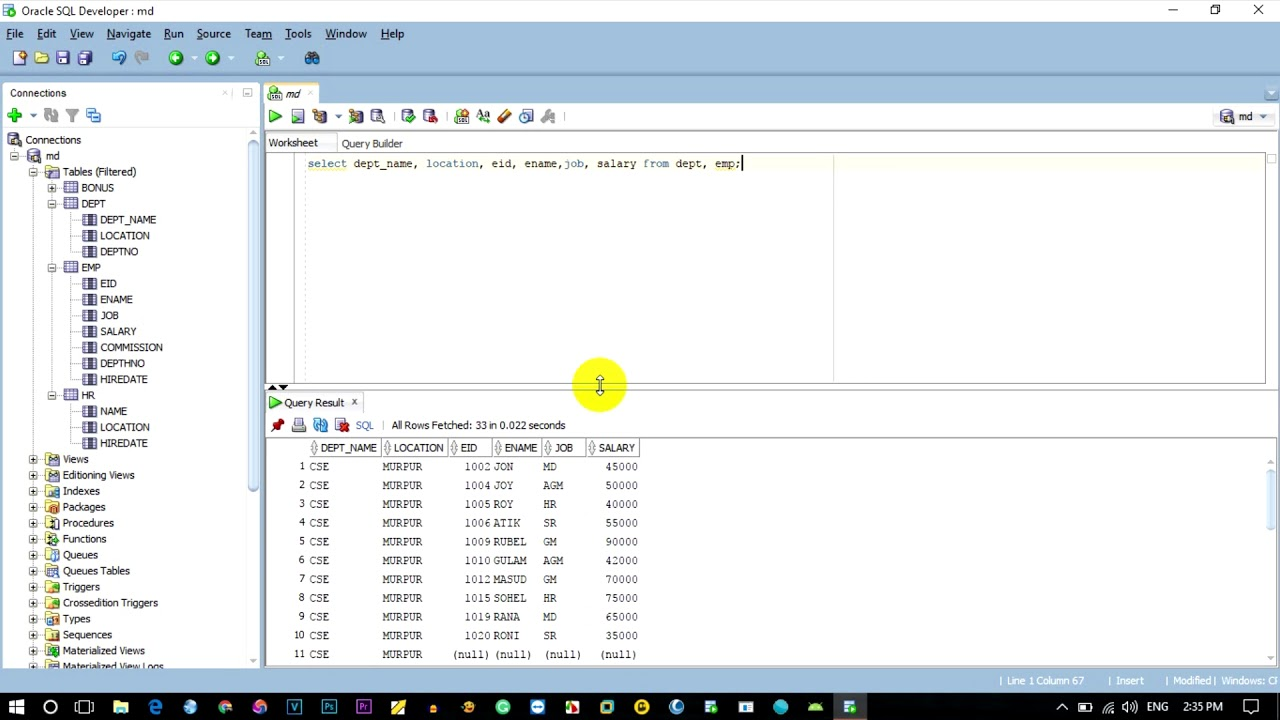Create Table View Sql Create View Oracle Sql View Vs Table
