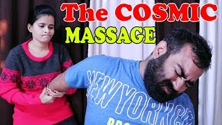 Quick Head massage to release body strees by The Cosmic lady barber