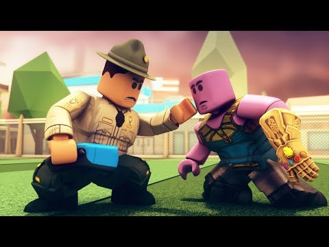 Roblox Defeats THANOS - Funny Roblox Jailbreak Animations