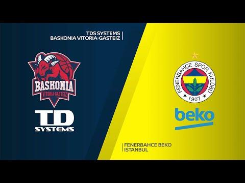 TD Systems Baskonia Vitoria-Gasteiz - Fenerbahce Beko Istanbul Highlights | EuroLeague, RS Round 9