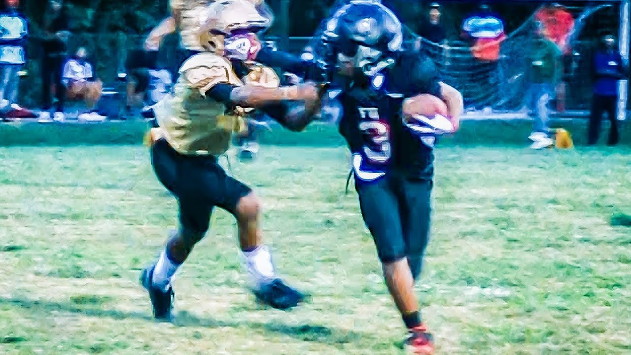 Rivalry Game Falcons United 11u Vs Hapeville Hornets Youth Football Youtube