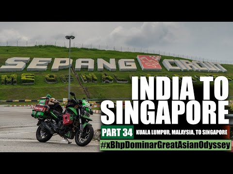 India to Singapore :: Episode 34:: Malaysia:: On Bajaj Dominar!