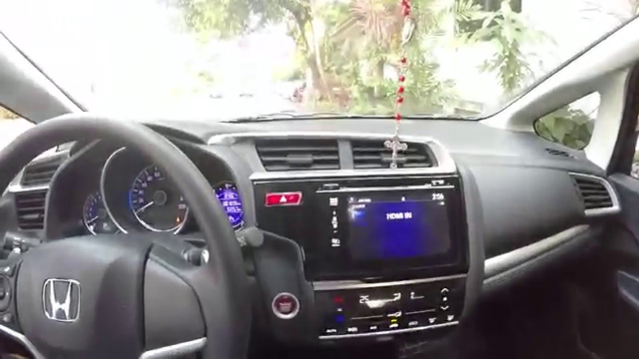 honda jazz 2016 enable hdmi while driving youtube. Black Bedroom Furniture Sets. Home Design Ideas
