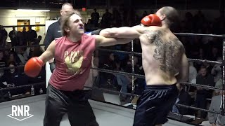 Crazy Tattooed Convict and Frat Boy Throw Haymakers - RNR 1