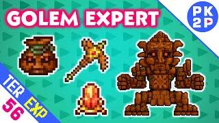 Golem, Shiny Stone, Picksaw e Set Spectral • Terraria 1.3 Expert #56
