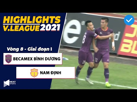 Binh Duong Nam Dinh Goals And Highlights