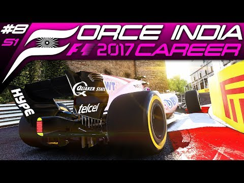 F1 2017 CAREER MODE #8 | A DAY TO FORGET... | Azerbaijan