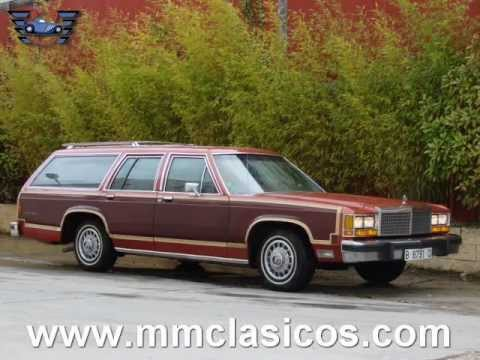 MM CLASICOS FORD LTD COUNTRY SQUIRE STATION WAGON V8 1981 - YouTube