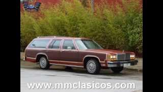 MM CLASICOS FORD LTD COUNTRY SQUIRE STATION WAGON V8 1981