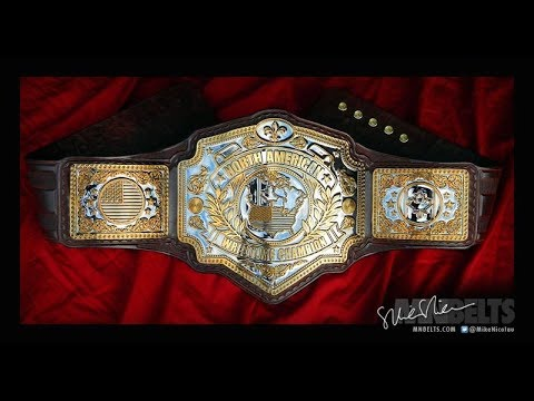 NEW NXT NORTH AMERICAN CHAMPIONSHIP TITLE BELT TO DEBUT AT TAKEOVER!