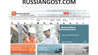www.russiangost.com - Russia import export customs regulations, requirements, certificates