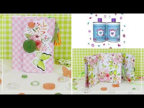Decorazioni in Resina per mini album - DIY resin embellishments