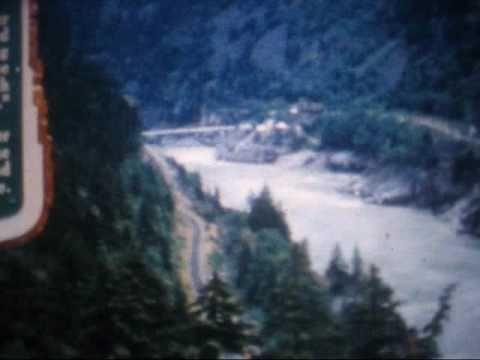 Trans Canada Highway Construction -- 1959
