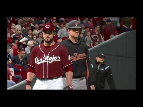 MLB the show 17  Giants at Reds