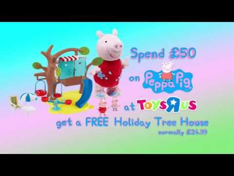 FREE Peppa Pig Holiday Treehouse Wys £50 On Peppa Pig