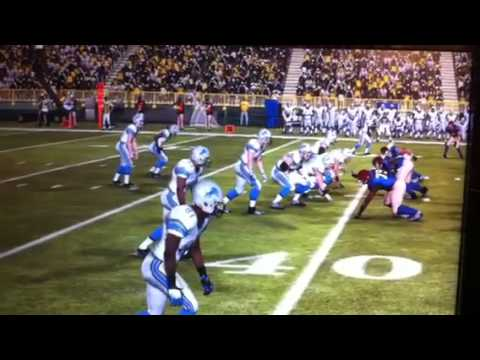 Madden NFL 11 Charles Woodson vs Calvin Johnson