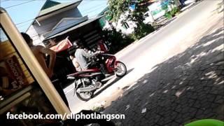 Lạng Sơn: Thanh niên đánh nhau bằng gạch, đá, mũ bảo hiểm