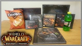 WoW WoD Collector's Edition Unboxing (World of Warcraft: Warlord's of Draenor)