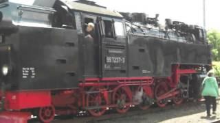 125 Jahre Schmalspurbahn im Harz mit radio SAW ( 09.06.2012) Teil 7
