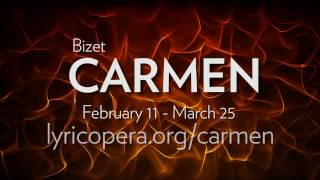 Bizet's CARMEN in rehearsal at Lyric Opera of Chicago. Onstage February 11 - March 25