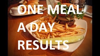 OMAD One Meal A Day Diet For 3 Months (Intermittent Fasting) | WEEK #3 RESULTS