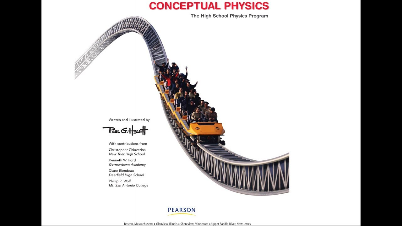 Conceptual Physics Online Textbook Tour