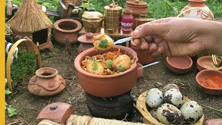 E#43 | Mini Food Egg Dum Biryani Recipe | Miniature Biryani Recipe | Miniature Cooking