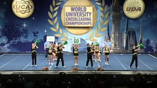University of Regina Cheerleading - ICU University Worlds 2013 - Small Coed