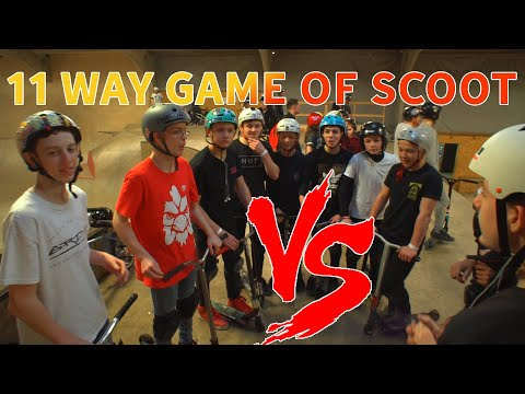 11 WAY PRO GAME OF SCOOT!