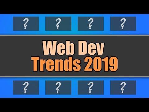 Top 8 Web Development Trends 2019