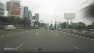 Driving to Jakarta Airport Terminal 3 Ultimate