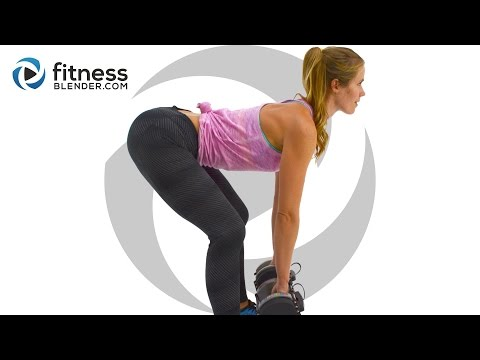 10 Minute Butt and Thigh Workout - Interval Strength Training Sweatfest