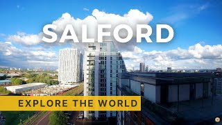 🇬🇧 English Weather - All Day Timelapse Video - Salford, Greater Manchester (4K Ultra HD)
