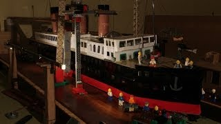 Giant ship model - Lego