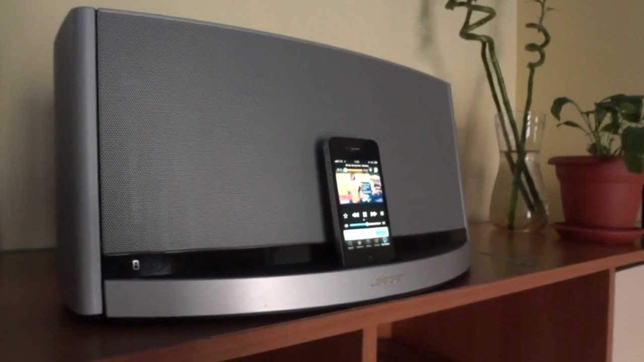 bose sounddock 10 test youtube. Black Bedroom Furniture Sets. Home Design Ideas