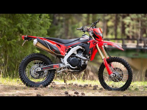 Single Track Tested: The 2019 Honda CRF450L with Adam Booth