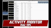 How To Use Activity Monitor On Your Mac - YouTube