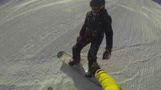 Процесс обучения по сноуборду