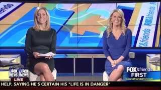 Ainsley Earhardt & Heather Childers 12-04-14
