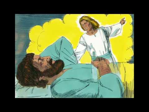 Children's Bible Story-Joseph & Mary Escape to Egypt (Christmas story) Aug 2 #2FishTalks