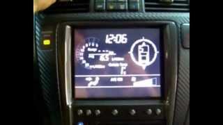 Замена монохромного монитора на Acura MDX | Acura MDX LCD adapter