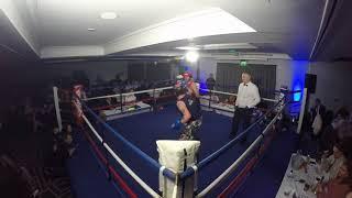 Ultra White Collar Boxing | Nottingham Show 2 | Nick Hubbard VS Phil Trueman
