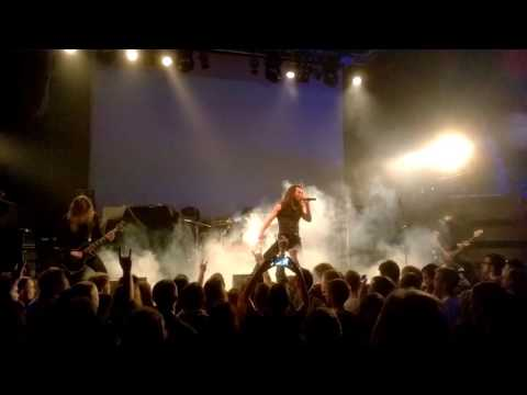 The Fading (melodic death metal band from Israel) live in Minsk 28.01.17